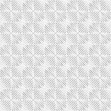 Naadloos van geïsoleerde lijnen in vorm van hoekvierkanten op een witte achtergrond Stock Foto
