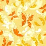 Naadloos van kleurenvlinders Royalty-vrije Stock Foto