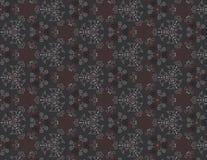 Naadloos vector bloemenpatroon Stock Foto