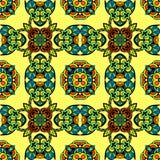 Naadloos Vector Geometrisch patroon Stock Afbeelding