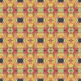 Naadloos vector helder abstract mozaïekpatroon Stock Foto