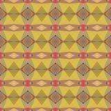 Naadloos vector helder abstract mozaïekpatroon Stock Fotografie