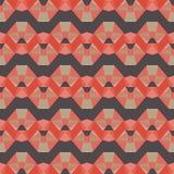 Naadloos vector helder abstract mozaïekpatroon Royalty-vrije Stock Fotografie