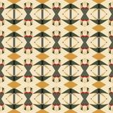 Naadloos vector helder abstract mozaïekpatroon Stock Foto's