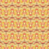 Naadloos vector helder abstract mozaïekpatroon Royalty-vrije Stock Foto's