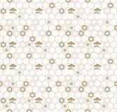 Naadloos vector Japans traditioneel geometrisch patroonontwerp met bloemsymbolen ontwerp voor textiel, verpakking, dekking royalty-vrije illustratie