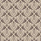 Naadloos vector retro behang Barokke wijnoogst Royalty-vrije Stock Foto's