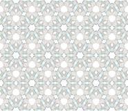 Naadloos vectorpatroon in guilloche stijl Royalty-vrije Stock Afbeelding