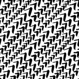 Naadloos vectorpatroon, hand getrokken waterco van het borstel geweven beeld Royalty-vrije Stock Foto