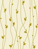 Naadloos vectorpatroon met de lentetakken. Royalty-vrije Stock Foto