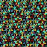 Naadloos vectorpatroon met heldere geometrische elementen Royalty-vrije Stock Fotografie