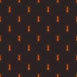 Naadloos vectorpatroon met insecten Royalty-vrije Stock Afbeelding