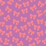 Naadloos vectorpatroon met pastelkleurbogen op een tegelachtergrond Royalty-vrije Stock Afbeeldingen