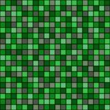 Naadloos vectorpatroon met vierkanten Eenvoudig geruit grafisch ontwerp getrokken achtergrond met kleine decoratieve elementen Dr Royalty-vrije Stock Foto's