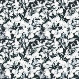 Naadloos vectorpatroon met vogels, bomen en insecten Royalty-vrije Illustratie