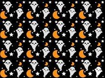 Naadloos vectorpatroon voor Halloween Royalty-vrije Stock Fotografie