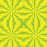 Naadloos Veelhoekig Citroengeel Strepenpatroon Geometrische abstracte achtergrond Geschikt voor textiel, stof, verpakking en Web  Royalty-vrije Stock Fotografie