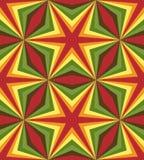 Naadloos Veelhoekig Kleurrijk Patroon Geometrische abstracte achtergrond Royalty-vrije Stock Afbeeldingen