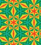 Naadloos Veelhoekig Kleurrijk Patroon Geometrische abstracte achtergrond Geschikt voor textiel, stof en verpakking Stock Afbeeldingen