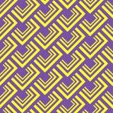 Naadloos veelhoekig patroon Geometrische abstracte achtergrond Stock Foto's