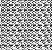Naadloos veelhoekig patroon Geometrische textuur royalty-vrije illustratie