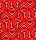 Naadloos Veelhoekig Rood Patroon Geometrische abstracte achtergrond Royalty-vrije Stock Afbeeldingen
