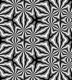 Naadloos Veelhoekig Zwart-wit Patroon Geometrische abstracte achtergrond Geschikt voor textiel, stof en verpakking Stock Foto's