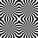 Naadloos Veelhoekig Zwart-wit Strepenpatroon Geometrische abstracte achtergrond Geschikt voor textiel, stof en verpakking Stock Afbeeldingen