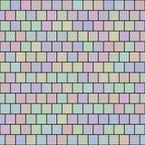 Naadloos Vierkant patroon Royalty-vrije Stock Afbeelding