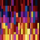 Naadloos vierkanten abstract patroon. vector illustratie