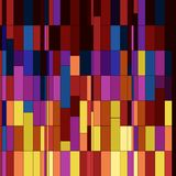 Naadloos vierkanten abstract patroon. Royalty-vrije Stock Foto