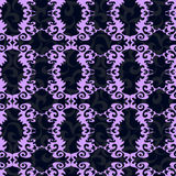 Naadloos violet behang Royalty-vrije Stock Afbeeldingen