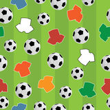 Naadloos voetbalpatroon