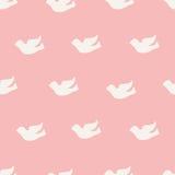 Naadloos vogelpatroon Royalty-vrije Stock Fotografie