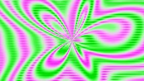 Naadloos voorzag gekleurde lengte van een lus stock videobeelden