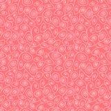 Naadloos wervelings roze patroon Stock Afbeelding