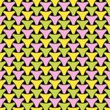 Naadloos wevend de oppervlaktepatroon van driehoekssquama stock illustratie