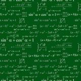 Naadloos wiskundig patroon Stock Afbeelding