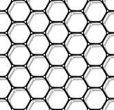 Naadloos zeshoekenpatroon vector illustratie