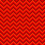 Naadloos zigzagpatroon Stock Afbeelding