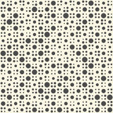 Naadloos zigzagpatroon Abstract Zwart-wit Dots Background vector illustratie