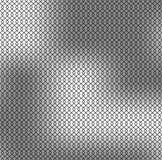 Naadloos zwart netpatroon op grijze zilveren achtergrond Stock Foto