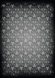 Naadloos zwart patroon Stock Foto