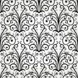 Naadloos zwart-wit abstract ornament royalty-vrije illustratie