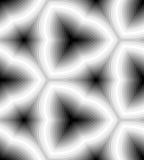 Naadloos Zwart-wit Golvend Strepenpatroon Geometrische abstracte achtergrond Geschikt voor textiel, stof en verpakking Stock Fotografie