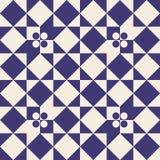 Naadloos zwart-wit meetkunde vectorpatroon Avantgarde abstract ornament vector illustratie