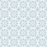 Naadloos zwart-wit patroon op transparante achtergrond, Arabische stijl Royalty-vrije Stock Foto's