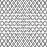 Naadloos zwart wit patroon stock illustratie