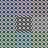 Naadloze 3d vierkanten vectorpatronen Stock Afbeeldingen