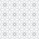Naadloze abstracte bloemenpatronen Geometrisch bloemenornament Stock Fotografie